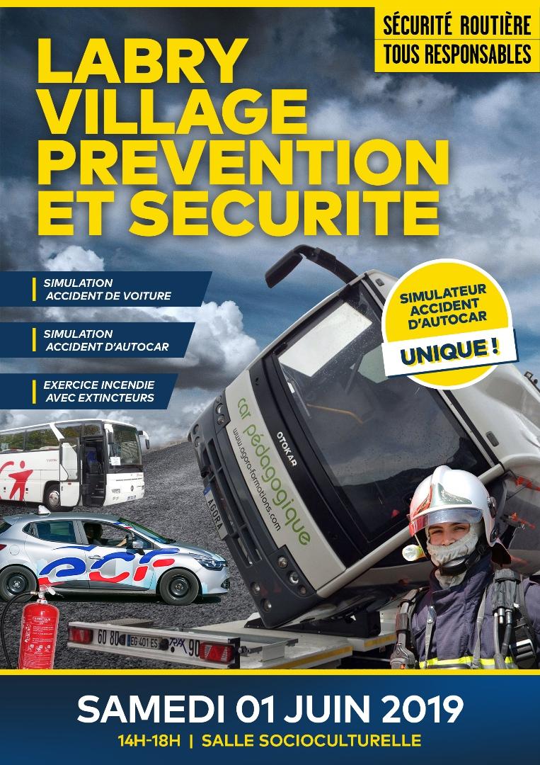 Sécurité routière 1er juin 2019 à Labry